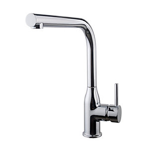 Wickes Seven Bottle Monobloc Kitchen Sink Mixer Tap - Chrome