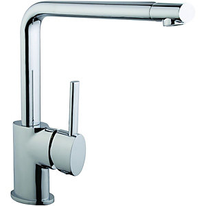Wickes Sonara Single Lever Kitchen Mixer Sink Tap - Chrome