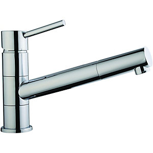 Wickes Tuya Pullout Kitchen Sink Tap - Chrome