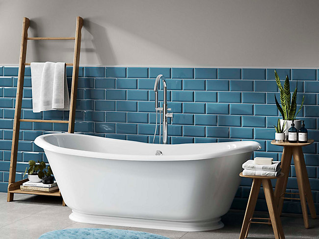 Metro Light Blue Ceramic Tile