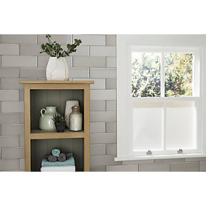 Wickes Soho Light Grey Ceramic Tile 300 x 100mm