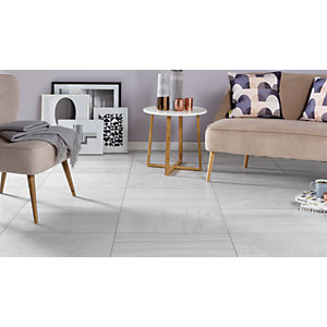 Wickes Stone Mix Silver Porcelain Tile 600 x 400mm