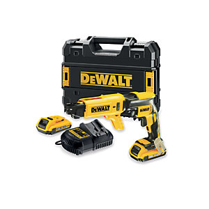 DeWalt DCF620D2 18V Xr Li-ion Brushless Collated Drywall Screwdriver 2 x 2.0AH, Charger and Kit Box