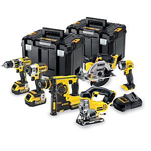 DeWalt DCK699M3T-GB 18V 4.0Ah Xr Brushless 6 Piece Power Tool Kit