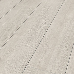 Wickes Albero Grey Oak Laminate Flooring - 1.48m2 Pack