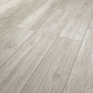 Wickes Arreton Grey Laminate Flooring - 1.48m2 Pack