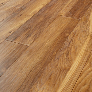 wickes madera light hickory laminate flooring 1 73m2 pack wickes