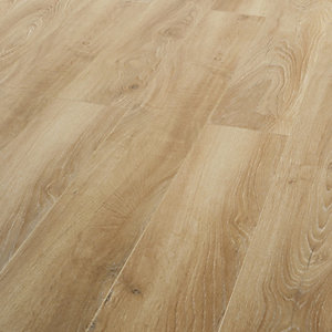 Wickes Sagano Oak Laminate Flooring - 1.41m2 Pack