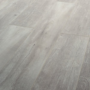 Wickes Salerno Oak Grey Laminate Flooring - 2.22m2 Pack
