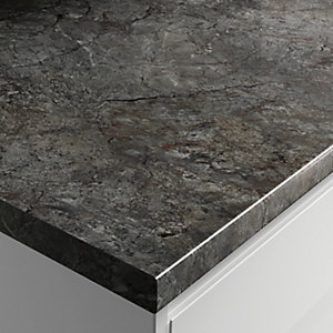 Wickes Gloss Laminate Worktop - Oratorio 600mm x 38mm x 3m