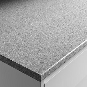 Wickes Laminate Worktop - Dapple Slate 600mm x 28mm x 2m