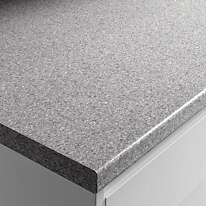 Wickes Laminate Worktop - Dapple Slate 600mm x 38mm x 3m