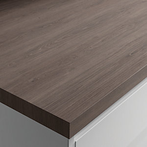 Wickes Laminate Worktop - Vintage Oak 600mm x 38mm x 3m
