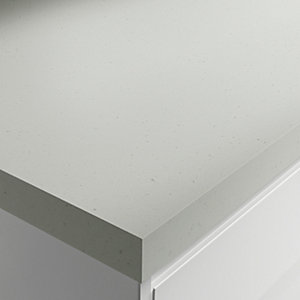 Wickes Matt Laminate Worktop - Strasse Gris 600mm x 38mm x 3m