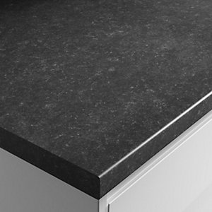 Wickes Textured Laminate Worktop - Lima Granite Effect 600mm x 38mm x 3m