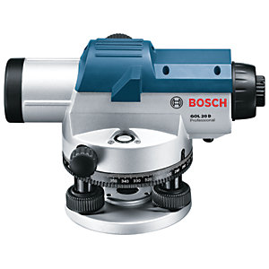 Bosch Professional GOL 20 D + BT 160 + GR 500 Optical Level Kit