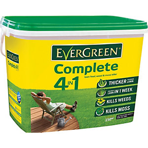 Evergreen Complete 4in1 Lawn Care Tub 150m2 - 5.2kg