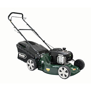 WEBB 46cm 3 in 1 Steel Deck Push Lawnmower