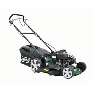 WEBB 46cm Self-Propelled Lawnmower 161cc