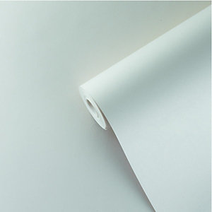 Wickes Lining Wallpaper 1700 Grade White - 10m