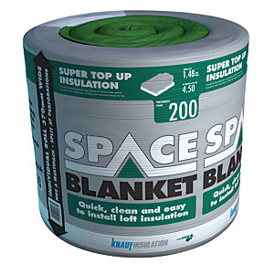 Knauf Space Blanket Encapsulation Loft Roll Insulation - 200mm x 370mm x 4m