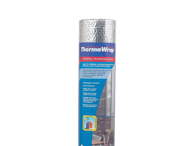 Thermawrap General Purpose Foil Wrap Insulation 1000mm x 7m -7m2