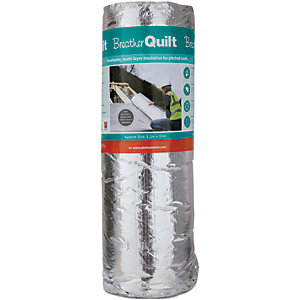 YBS Breatherquilt 2-In-1 Multifoil 40mm Insulation 1.2 x 10m Roll