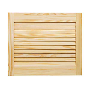 Wickes Pine Closed Internal Louvre Door - 457mm x 533mm