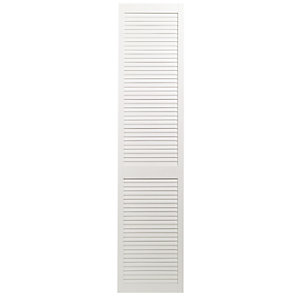 Wickes White Closed Internal Louvre Door - 1981mm x 457mm