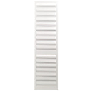 Wickes White Closed Internal Louvre Door - 1981mm x 533mm