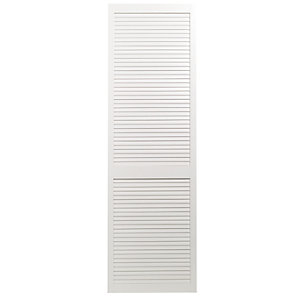 Wickes White Closed Internal Louvre Door - 1981mm x 610mm