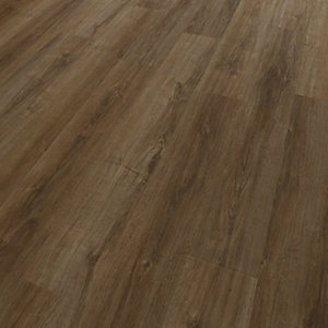 Novocore Dark Oak Luxury Vinyl Click Flooring - 2.56m2 Pack