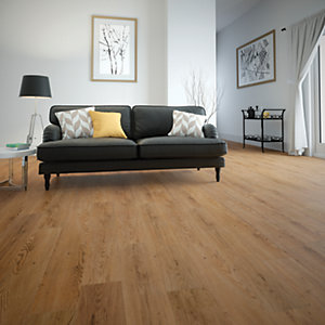Wickes Cetona Oak Luxury Vinyl Flooring Tiles