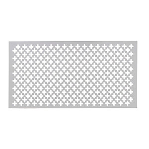 Wickes Decorative MDF Clover Radiator Screen - 4mm x 607mm x 1220mm