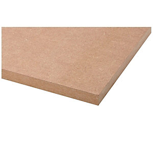 Wickes General Purpose MDF Board - 12mm x 607mm x 2440mm