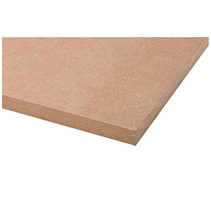 Wickes General Purpose MDF Board - 18mm x 606mm x 1829mm