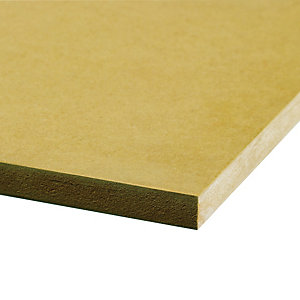 Wickes General Purpose MDF Board - 25mm x 1220mm x 2440mm