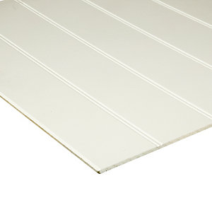 Wickes MDF Primed Beaded Panel - 6mm x 607mm x 1829mm