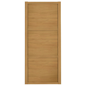 Spacepro Shaker 3 Panel Sliding Wardrobe Door - Made to Measure 901-1200mm