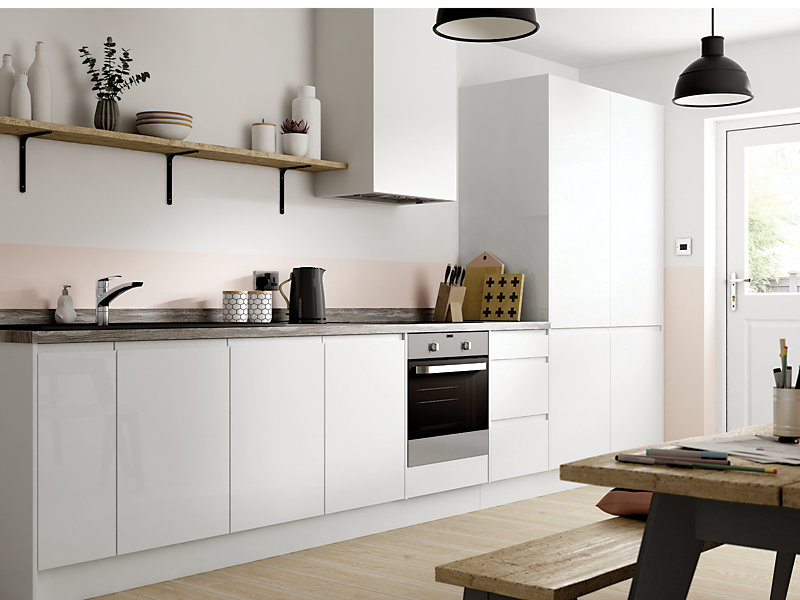 Madison White Ready to Fit Kitchen<br> Price based on 8 unit example*