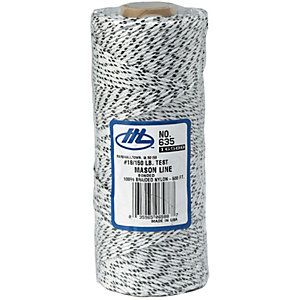 Marshalltown M620 White Mason Line - 500ft/150m