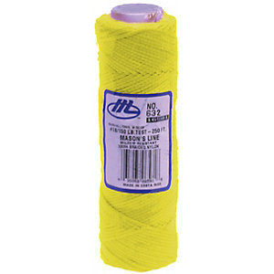 Marshalltown M632 Yellow Mason Line - 250ft/75m