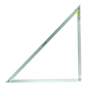 Wickes Aluminium General Purpose Folding Square - 1.2m