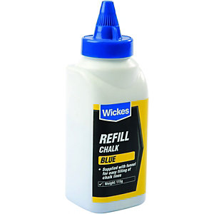 Wickes Blue Chalk Refill For Chalk Reel - 115g