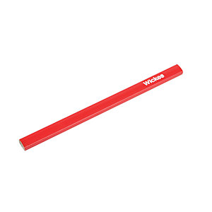 Wickes Single Red Carpenters Pencil