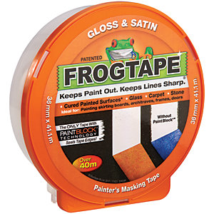 FrogTape Painter's Gloss & Satin Orange Masking Tape - 36mm x 41m