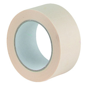 Wickes Multi-Surface Cream Masking Tape - 48mm x 50m