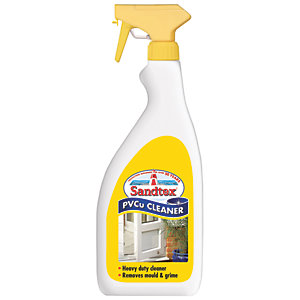 Sandtex PVCu Cleaner - Clear 500ml