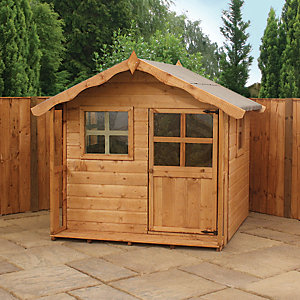 Mercia 5 x 5 ft Timber Poppy Playhouse