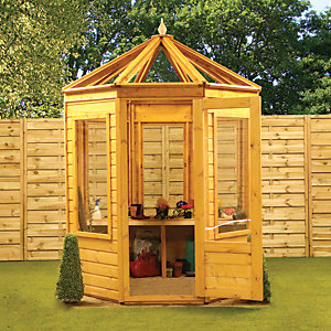 Mercia 6 x 6ft Octagonal Greenhouse